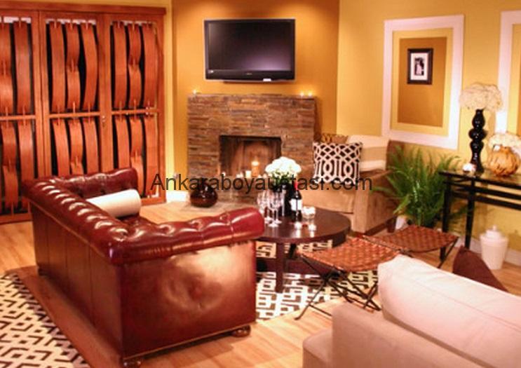ev içi boya badana görsel